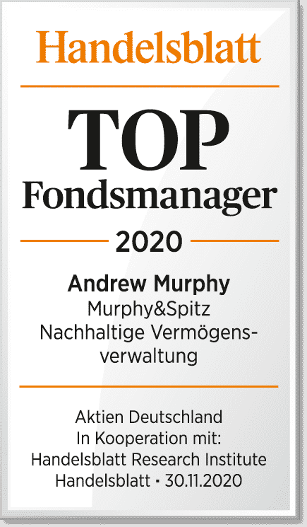 Handelsblatt - TOP Fondsmanager 2020