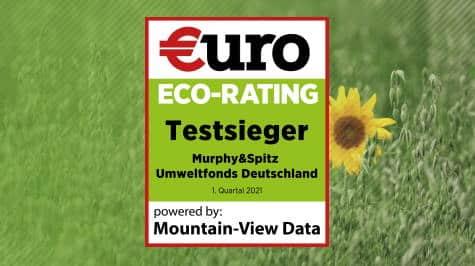 Murphy&Spitz Umweltfonds Deutschland ist Testsieger im €uro ECO-Rating