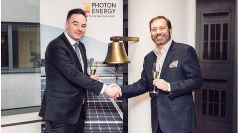Photon Energy am geregelten Markt der Warschauer Börse gelistet