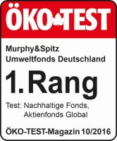 ÖKO-TEST-Siegel 1. Rang